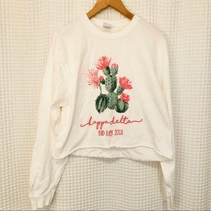 Kappa Delta KD long sleeve t shirt